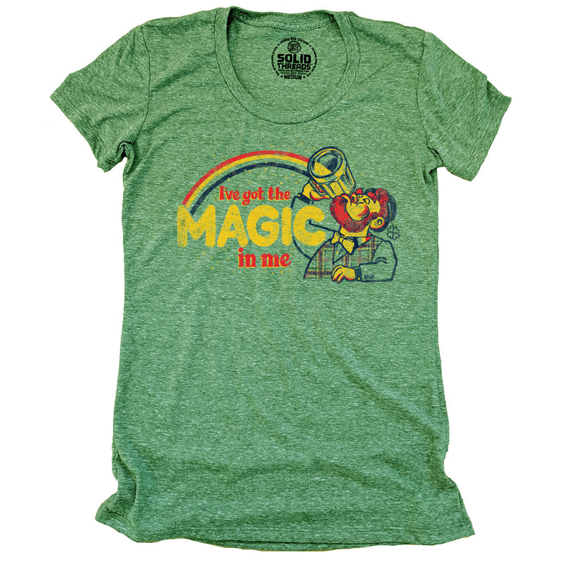 Women's I've Got The Magic In Me Vintage T-Shirt | SOLID THREADS