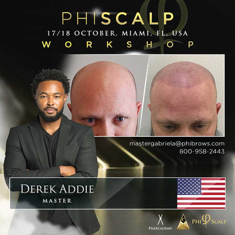 Phi Scalp Micropigmentation Training Miami – October 17/18