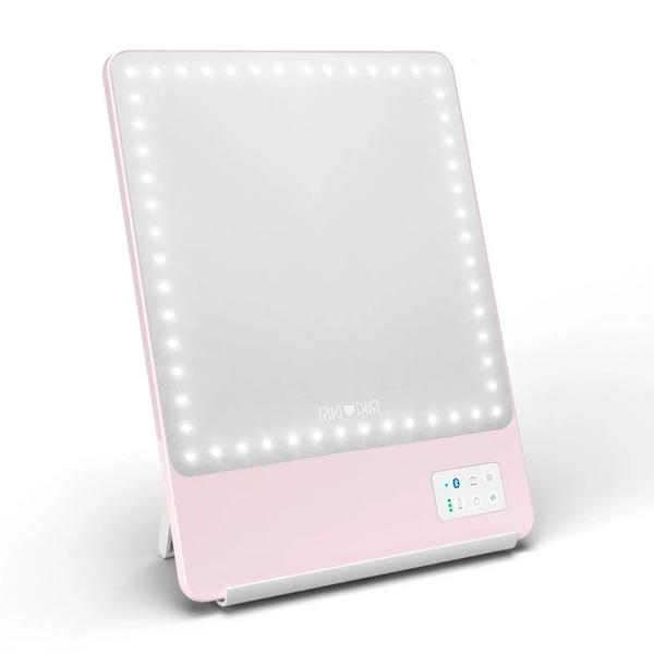 Riki Skinny Pink Lighted Vanity Mirror Glamcor Phibrows Microblading Supplies Usa