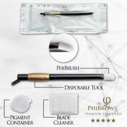 PhiBrows™ Disposable Tool U-Blade 18 Classic - PhiBrows™ Microblading Shop USA