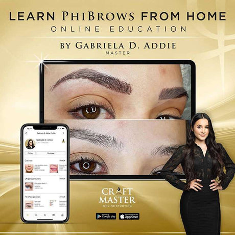 PhiBrows Online Microblading Training Course