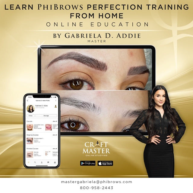 PhiBrows Online Perfectioning (Bold Brows) Training Course