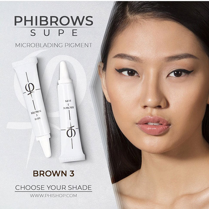 PhiBrows™ Microblading Pigments SUPE Brown 3