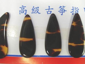 Guzheng Picks (Celluloid) - Both Hands Thickness 2.0mm