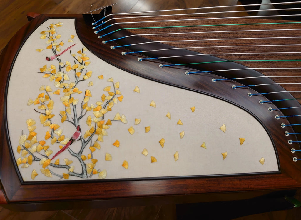 Dunhuang Yun Indian Rosewood  Guzheng - Shanghai Music Show Special Limited Edition 898S