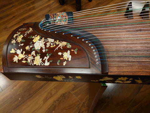 Dunhuang Yun Indian Rosewood  Guzheng - Shanghai Music Show Special Limited Edition 898LCC