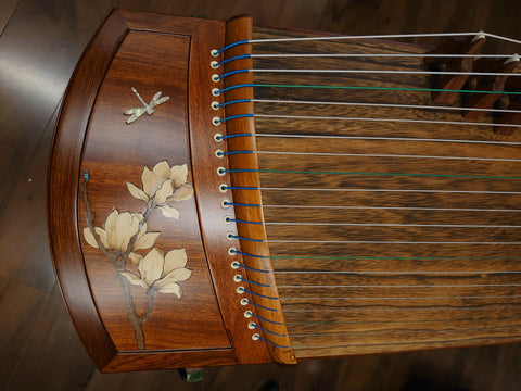 "49"" Sound of China Rosewood  Guzheng ""Magnolia"""