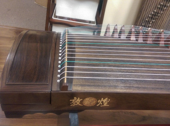 Dunhuang Yun Thailand Rosewood (Aged Rosewood) 895O Guzheng with F-Sound Holes