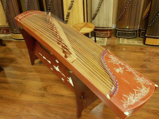 "Dunhuang Rosewood Guzheng 689E ""High Mountain Flowing Water"""