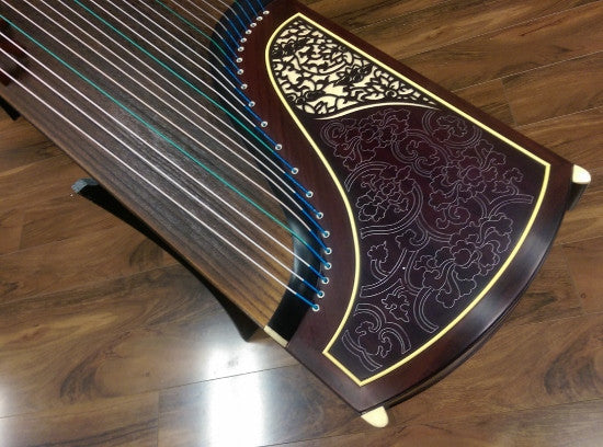 "Dunhuang Indian Rosewood Zitan 698JM Guzheng ""Flowers Dream"""