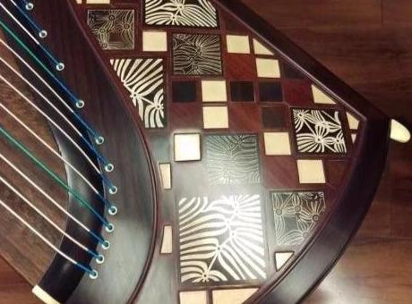 "Dunhuang Thailand Rosewood 7695TM Guzheng ""Rhytm of the Frgrance"""