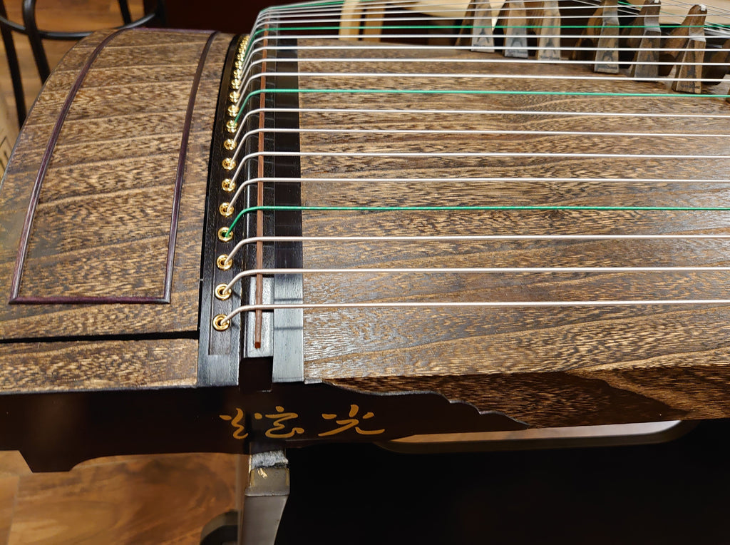 "Xuanguang Zheng Art-Mitsuya Koto Collection Guzheng (Made in Japan) ""Mystic Purple"" 炫光筝"