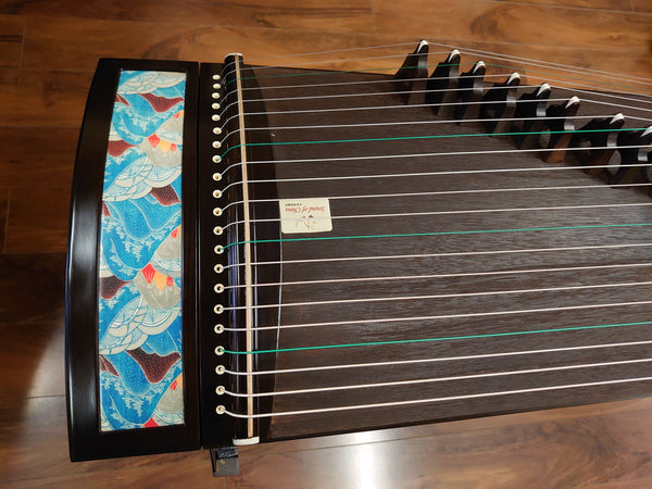 "49"" Sound of China Professional Blackwood Guzheng ""Misty Mountain"""