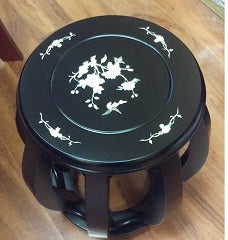 Guzheng Stool with Inlay