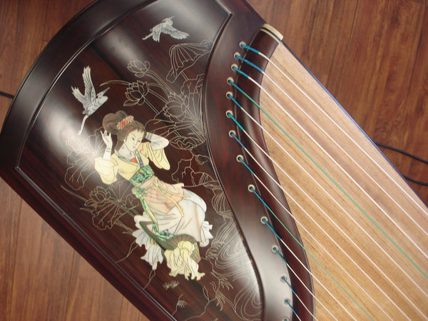 "Tianyi Elite Madagascar Rosewood Mica/Silver Thread Inlay Guzheng ""Lady Xishi"""