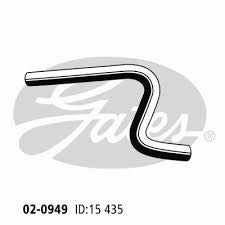 FORD Escort  4 Cyl 1970-77 Manifold Inlet Hose - 02-0949