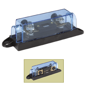 54418 Narva In-Line ANL Fuse Holder with Transparent Cover and 250 Amp Fuse
