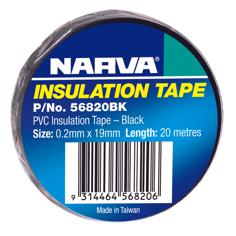 56820BK Narva Black Insulation Tape