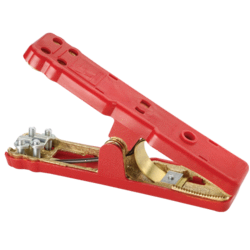 57338 Narva Solid Brass Red Battery Clamp - 1200A