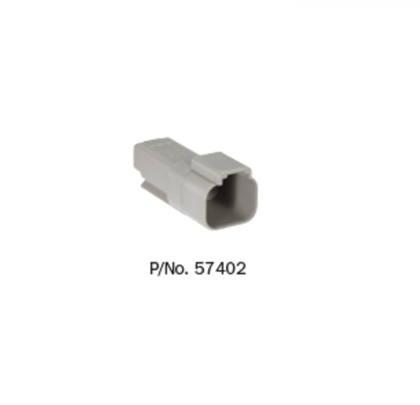 57402 Narva Deutsch Connectors - Female - 10 pack