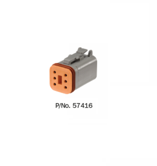 57416 Narva Deutsch Connectors - Male  - 10 Pack