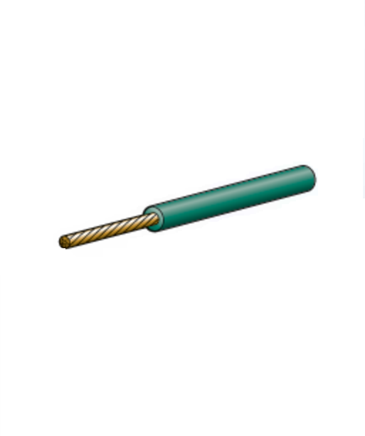 5812-100GN Narva Single Core Green Cable 2.5mm