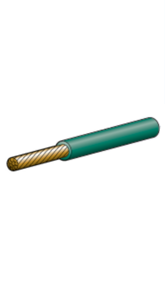 5815-30GN Narva Single Core Green Cable 5mm