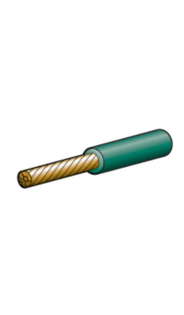 5816-30GN Narva Single Core Green Cable 6mm