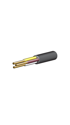 5833-100WYB Narva 3mm 3 Core Cable
