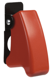 Narva 60059BL Missile Switch Cover - Red - Suits Toggle Switches