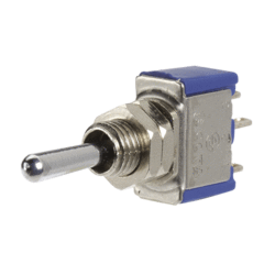 60291BL Narva Micro On / Off / On Metal Toggle Switch