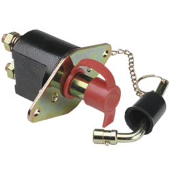 61050 Narva Heavy-Duty Battery Master Switch with Removable Key