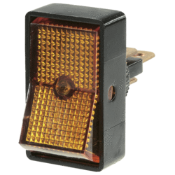 62021BL Narva Illuminated Off / On Standard Rocker Switch - Amber