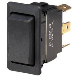 63044BL Narva Momentary On / Off / Momentary On Heavy-Duty Rocker Switch