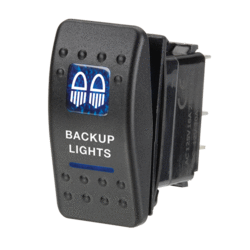 63142BL Narva 12 Volt Illuminated Off / On Sealed Rocker Switch with Backup Ligh