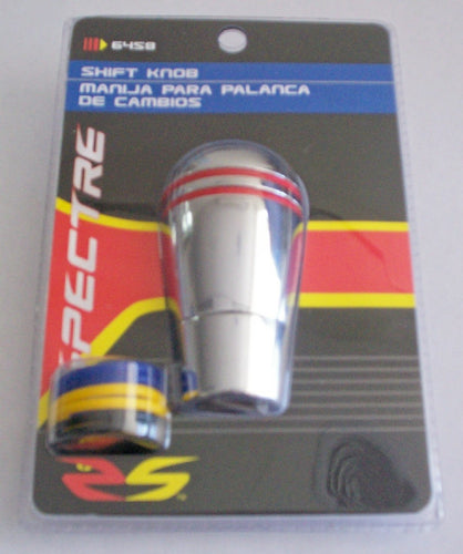 Chrome Shift Knob with 4 Colour O-Rings - Manual Vehicles