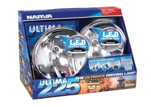 71670HID-24 Narva 24 Volt 50W Ultima 225 H.I.D Broad Beam Driving Lamp Kit with