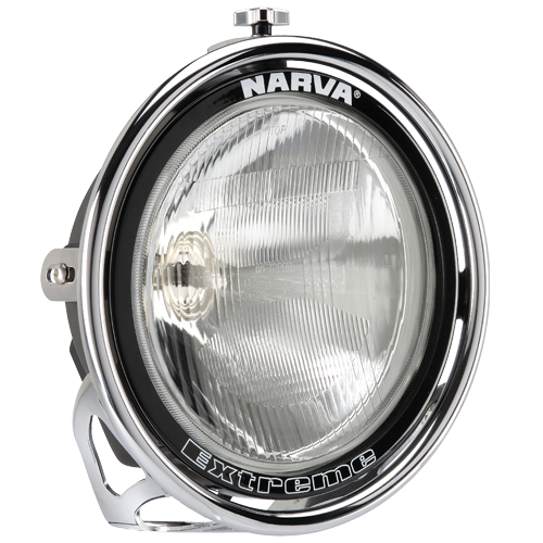 71764 Narva 12 Volt 100W Extreme Broad Beam Driving Lamp Kit Chrome Mount