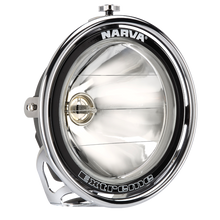 71766 Narva 12 Volt 100W Extreme Pencil Beam Driving Lamp Kit Chrome Mount
