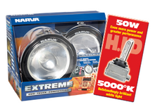 71764HID Narva 12 Volt 50W Extreme H.I.D Broad Beam Driving Lamp Kit Chrome Moun