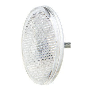 84000BL Narva Clear Retro Reflector 65mm Diameter with Fixing Bolt
