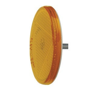 84001BL Narva Amber Retro Reflector 65mm Diameter with Fixing Bolt