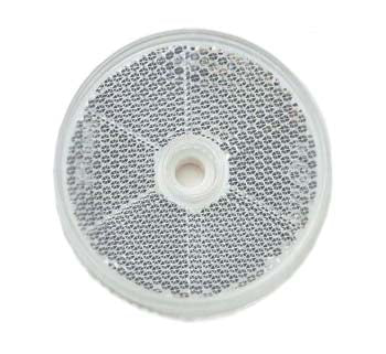 84010BL Narva Clear Retro Reflector 60mm Diameter with Central Fixing Hole