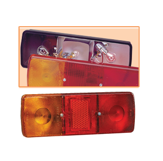 85705BL Narva Lens Suits Rear Stop / Tail Licence Plate Lamp