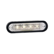 90814 Narva 10-30 Volt L.E.D Front End White Lamp with Stainless Steel Cover and