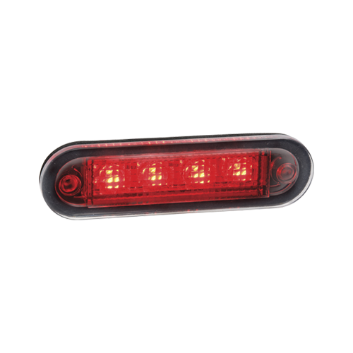 90830 Narva 10-30 Volt L.E.D Rear End Outline Marker Lamp (Red) with 0.5m Cable
