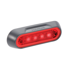 90832BL Narva 10-30 Volt L.E.D Rear End Outline Marker Lamp (Red) with Grey Defl