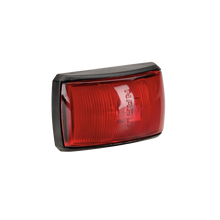 91433 Narva 10-33 Volt L.E.D Rear End Outline Marker Lamp (Red) with Black Defle