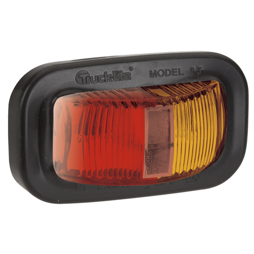 91607 Narva 9-33 Volt L.E.D Side Marker Lamp (Red/Amber) with Vinyl Grommet and