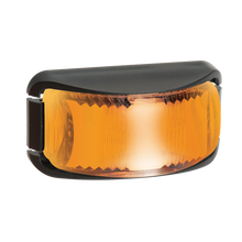 91642BL Narva 9-33 Volt L.E.D Side Direction Indicator Lamp (Amber), Black Base